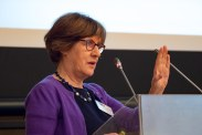 Keynote speaker Mary Daly (University of Oxford) | Photo copyright: Robert Schuman Centre