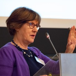 Keynote speaker Mary Daly (University of Oxford) | Photo copyright: Robert Schuman Centre