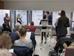 Results were presented in the form of posters and short presentations