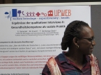 Dr. Florence Samkange-Zeeb presents research results on language barriers