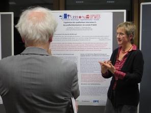 Dr. Silja Samerski presents results on health literacy